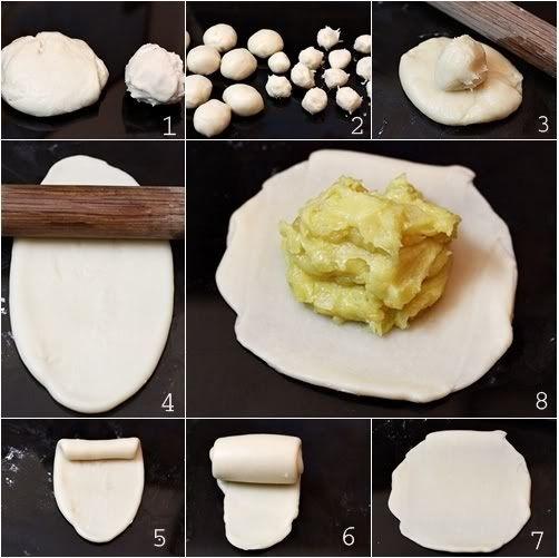 cách làm bánh pía sầu riêng