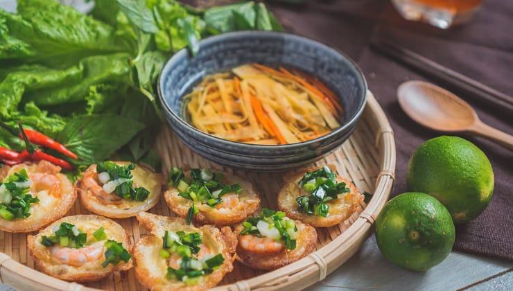Bánh Khọt một trong các món ăn ngon ở Vũng Tàu được yêu thích nhất
