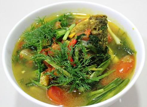 Canh riêu cá chép một trong những công thức nấu món ngon từ cá chép tuyệt vời