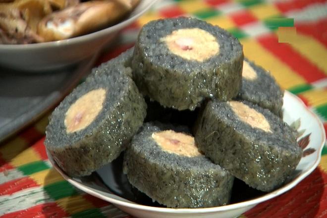 Bánh chưng đen
